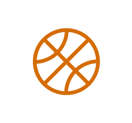Basketball by Gregor Cresnar from the Noun Project